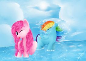 Fun In The Water by StrawberryNinilein