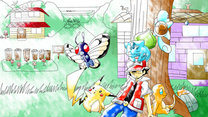 The Good Ol Days Pokemon Yellow by AnimatorMX
