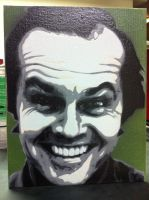 Jack Nicholson by Stencils-by-Chase