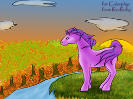 fall exchange for calzephyr by RevRuby