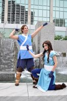 ATLA: Sokka and Katara by ElliotCosplay