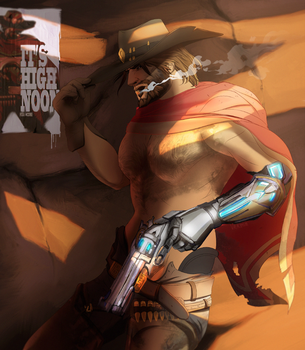 It's High Noon by valachhim