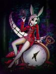 Lacey:  The White Rabbit by sladeside