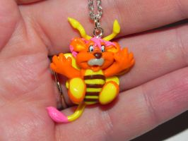 Bumblelion Wuzzles Necklace by Secretvixen