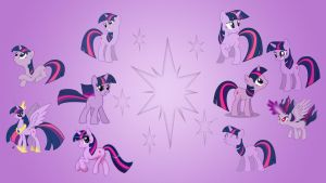 Twilight Sparkle Wallpaper Collab by EqFAzrael