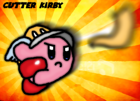 Cutter kirby by thegamingdrawer