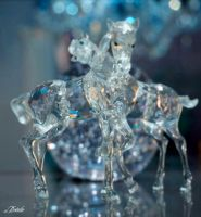 Crystal Ponies 2 by Deirdre-T