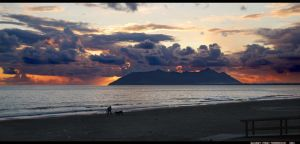 Sunset from Terracina VPano by LoganDTR