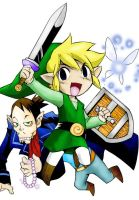 Legend of Zelda Phantom hourglass manga by stopmotionOSkun
