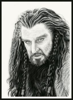 Thorin Oakenshield by thewholehorizon