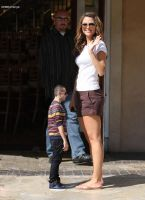 Maria Menounos tall by SizeExchange
