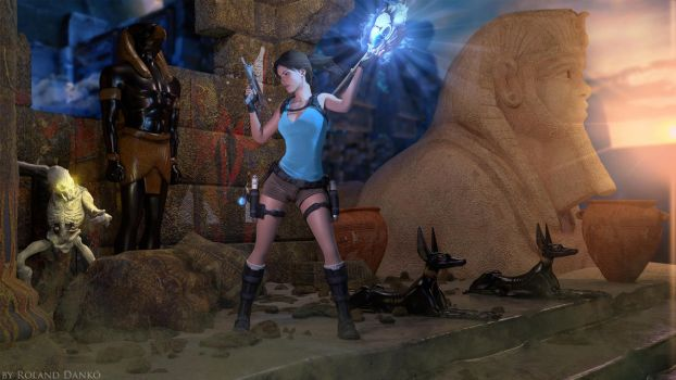 Lara Croft and the Temple of Osiris Wallpaper #2 by Roli29