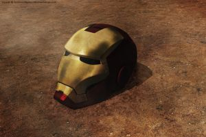 Iron Man Helmet by Ouroboros888