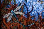 Dragonfly Detail I by suedollinQuilts