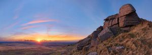 Sunset, Hare Tor by Alex37