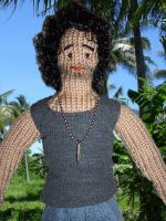 Sayid from Lost 02_knitted by xxTaylerxx