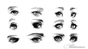 Eye practice by JosjeZ