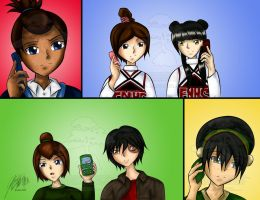 Glee+A:tLA - Sectionals by agent-ayu