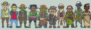 Scroggs and friends by ctrl-fish
