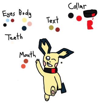 Rose the Pichu Reference by lucariodarkness745