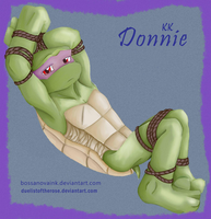 TMNT - KK Donnie (collab) by RoseDuelistBBSHM