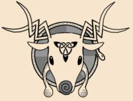 Cernunnos Tattoo by stardrop