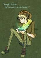 Hipster Malfoy by Avibroso