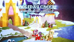 Holiday Cheer: Wintertime in Canterlot (cover art) by KibbieTheGreat