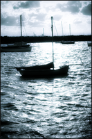 Boat on the water by Eternal-Polaroid