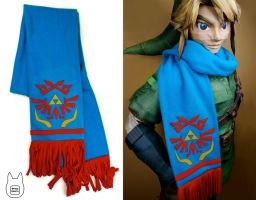 Hyrule Warriors Scarf (tutorial) by studioofmm