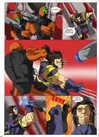 X-men legends II experimental comic strip! by Sabrerine911