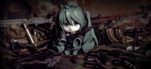 Miku : The Actual Love Is War by Bosch91
