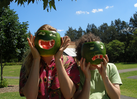 Melon Masks by hirokiro