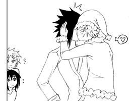 I Saw Daddy Kissing Santa by HardcoreYaoi