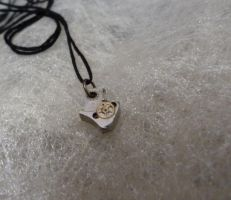 Steampunk shark theeth pendant by Rouages-et-Creations