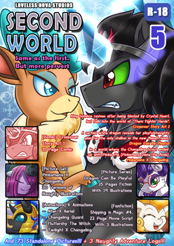 [Pay What You Want] SECOND WORLD VOL. 5 by vavacung
