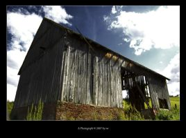 old shack by e1sbaer