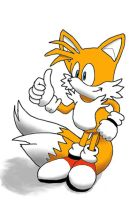 Tails thumbs up by HarmonicViper