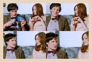 Matt Smith and Karen Gillan 2 by alitaz