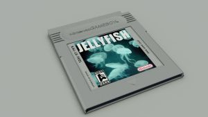 GAMEBOY CARTRIDGE - JELLYFISH by albertRoberto