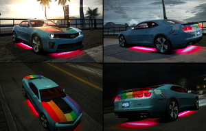 Rainbow Dash's Chevrolet Camaro ZL1 by erikngn