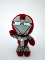Iron Man Amigurumi MK5 by nsdragons