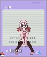 Gijinka Pokemon- Wooper by Song64