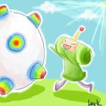 KATAMARI - Roll Away by LarkIsMyName