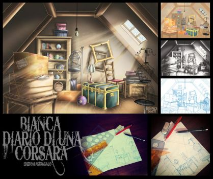 Bianca_ILLUSTRATION #3_ STEP BY STEP by vs-catonthemoon