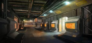 Military Bunker by KM33