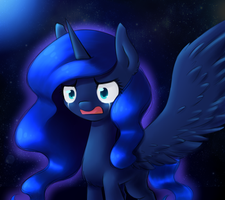 Anger, Fear, Regret, Sadness, Shame. Luna by AviAlexis25