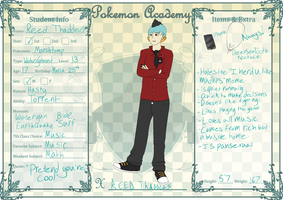 PokeAcademy - Reed Thaddeus *UPDATED* by Chronophobi