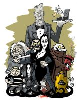 The Addams Family by Smigliano