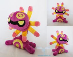 Shiny Cradily Plush by dollphinwing